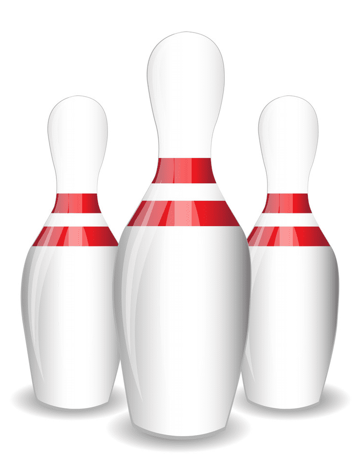 Bowling Pins clipart for free