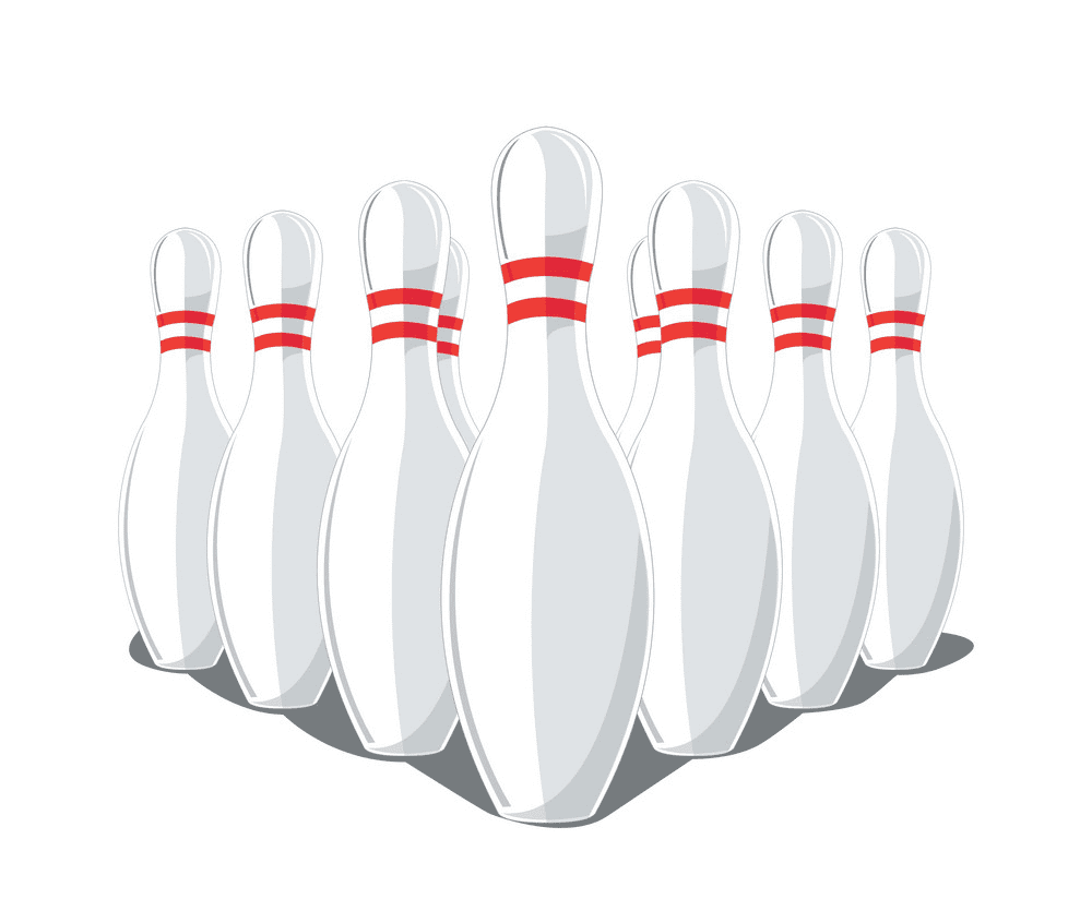 Bowling Pins clipart images