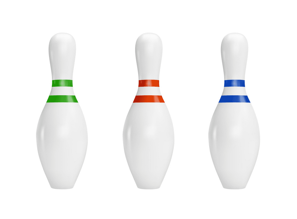 Bowling Pins clipart picture