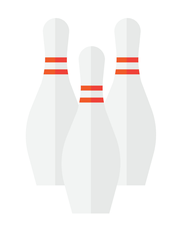 Bowling Pins clipart png