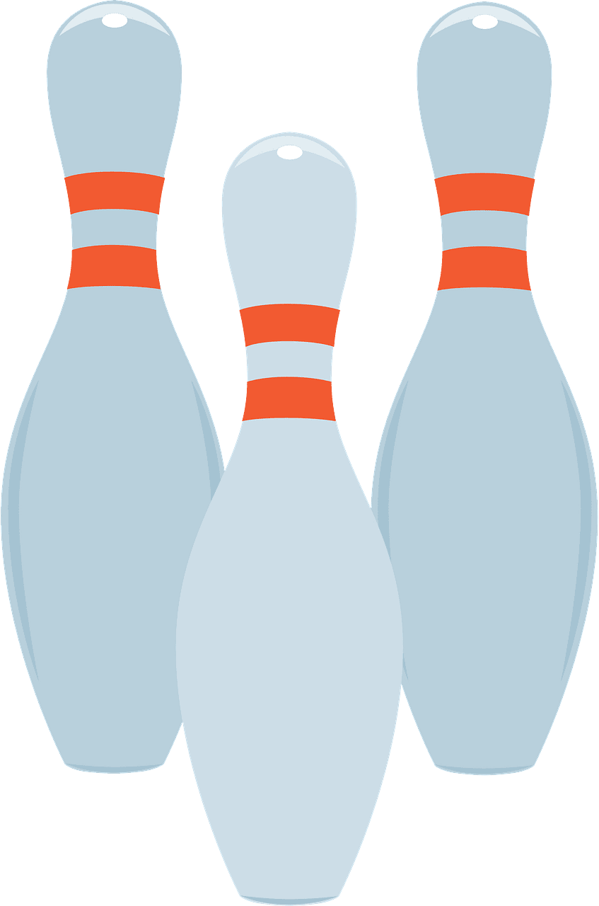 Bowling Pins clipart transparent image