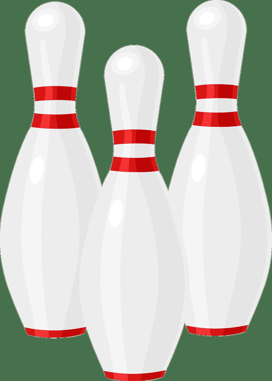 Bowling Pins clipart transparent png