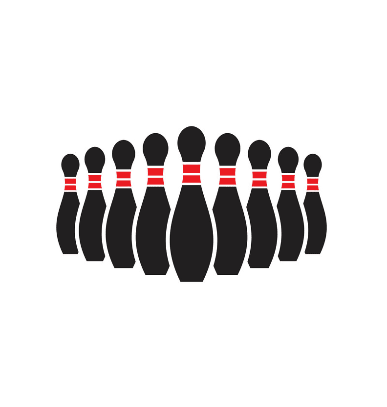 Bowling clipart 1