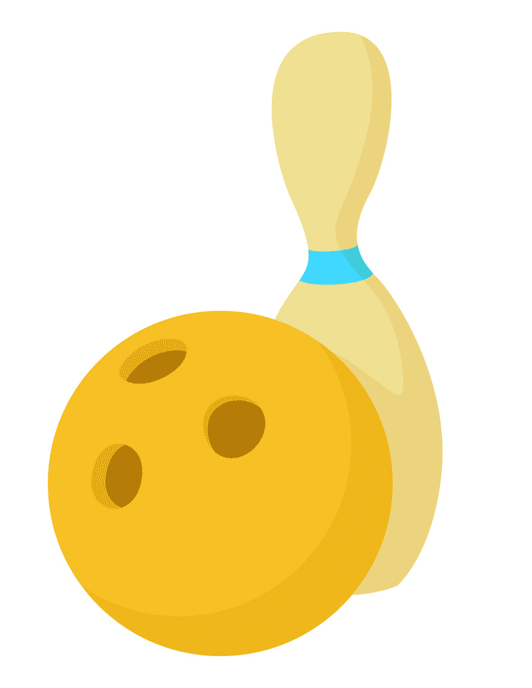 Bowling clipart 3