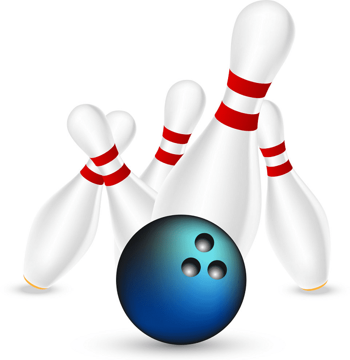 Bowling clipart for free