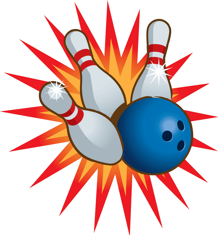 Bowling clipart for kid