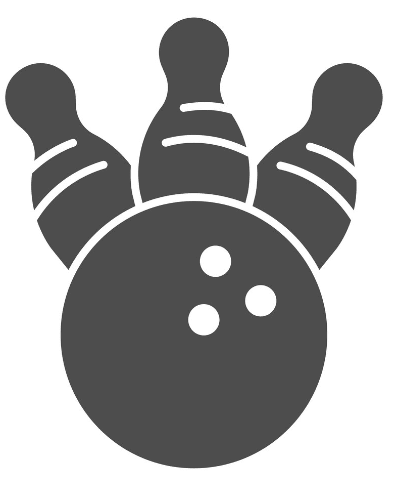 Bowling clipart free image