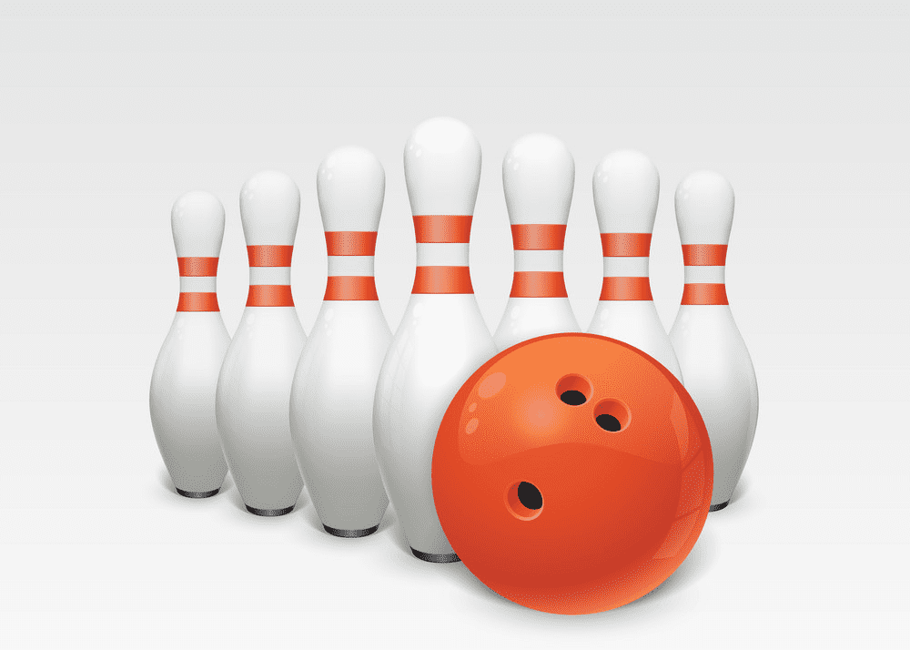 Bowling clipart images