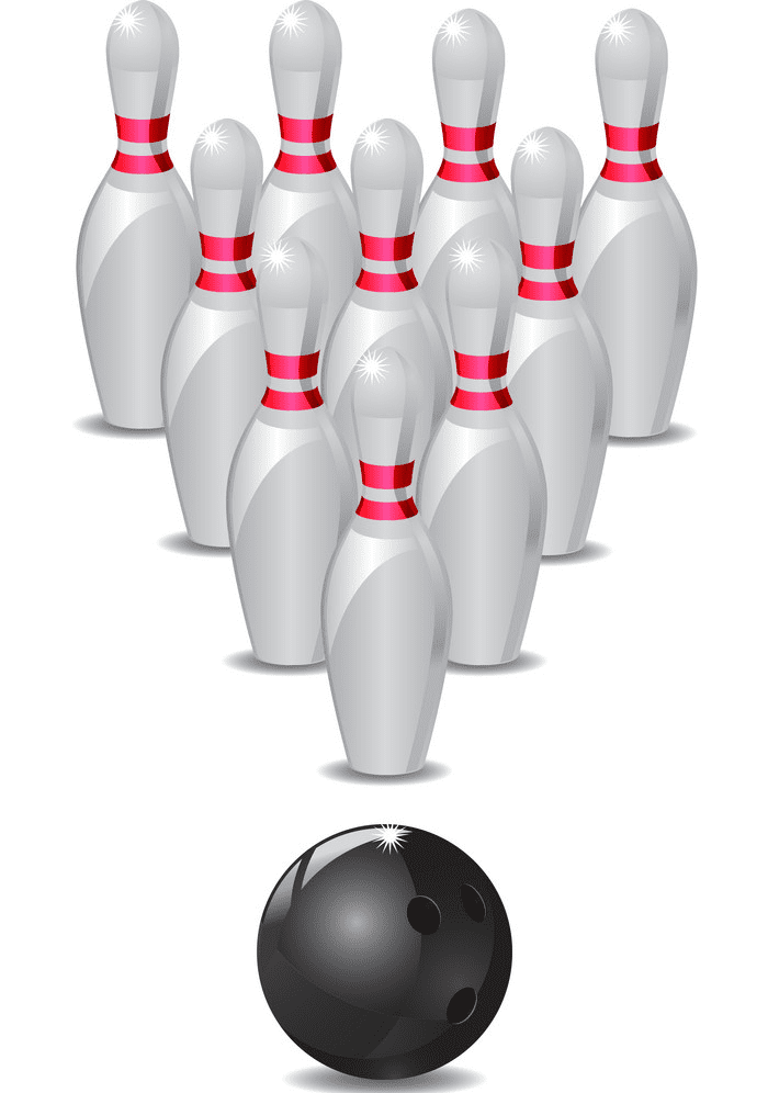 Bowling clipart picture