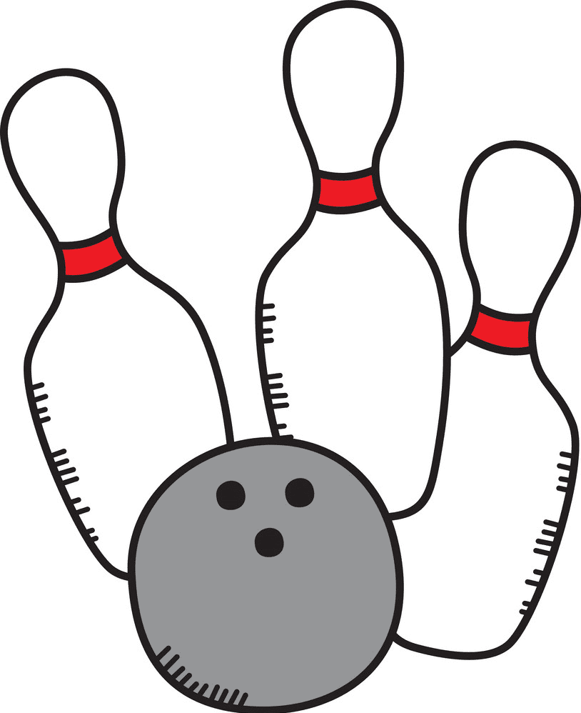 Bowling clipart png download