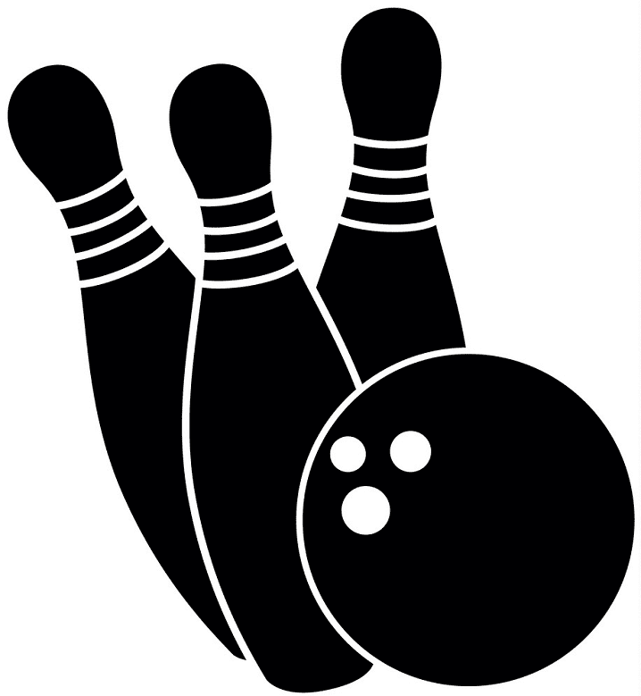 Bowling clipart png for kid