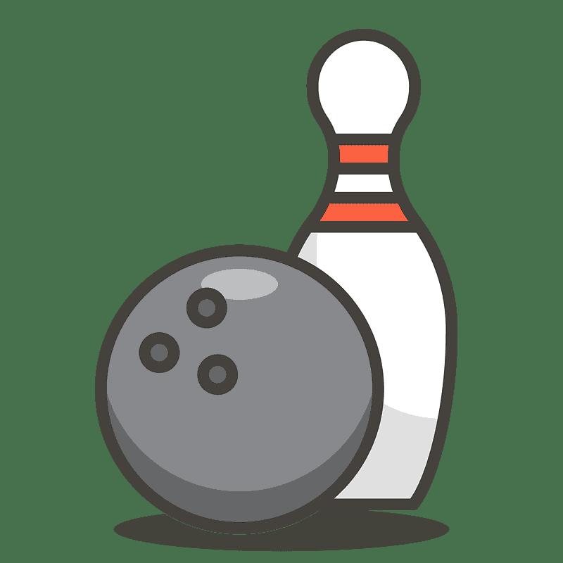 Bowling clipart transparent 1