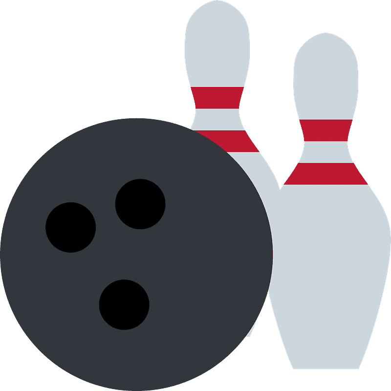 Bowling clipart transparent 2