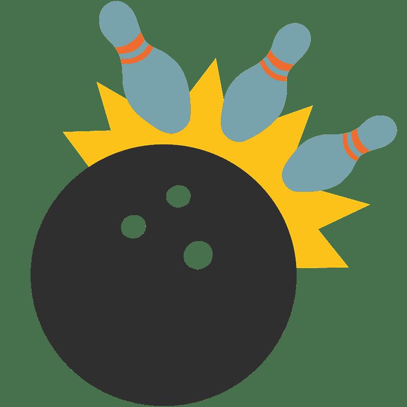 Bowling clipart transparent 4