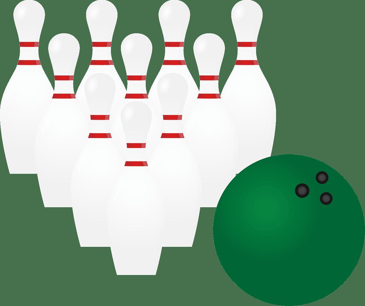 Bowling clipart transparent background 1