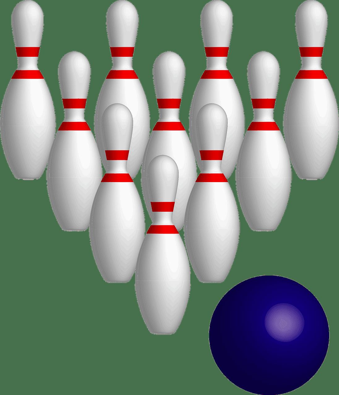 Bowling clipart transparent background 2