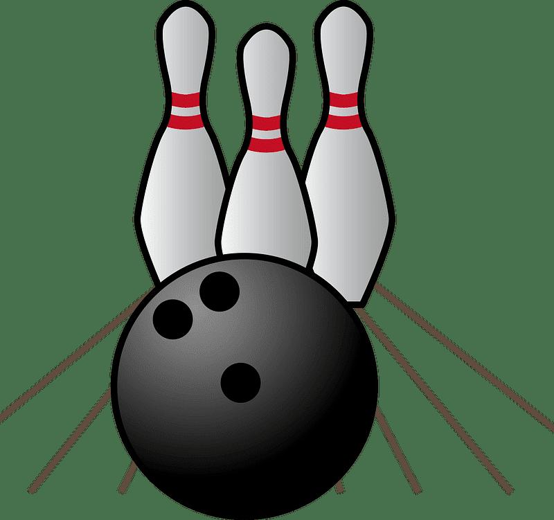 Bowling clipart transparent background 3