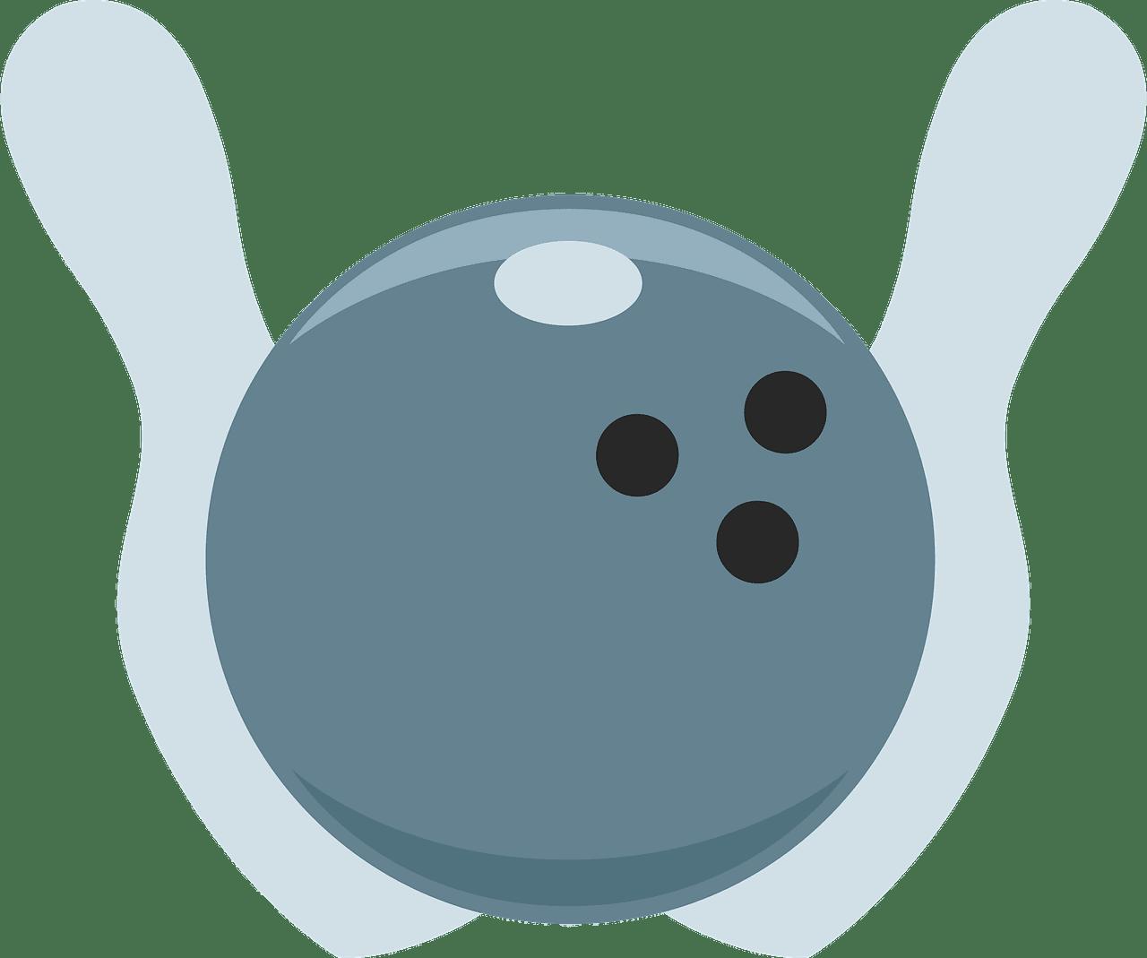 Bowling clipart transparent background 4