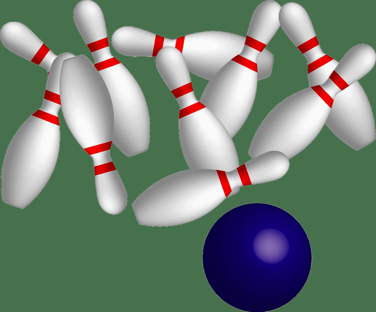 Bowling clipart transparent background