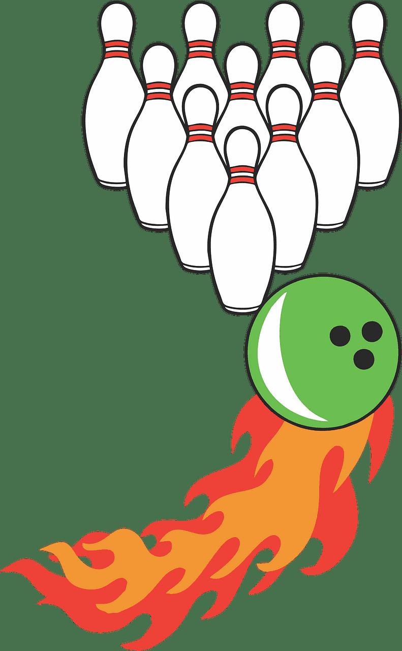Bowling clipart transparent image