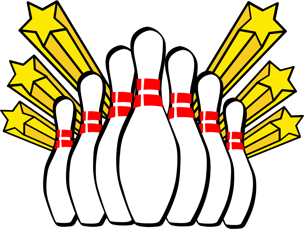 Bowling clipart transparent png
