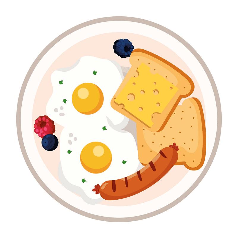 Breakfast clipart 1