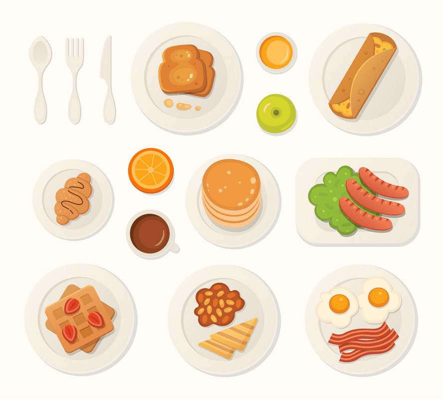 Breakfast clipart 2