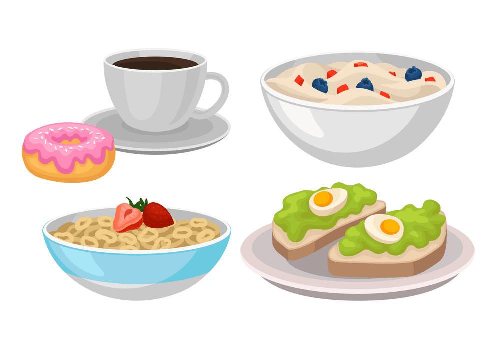 Breakfast clipart 6