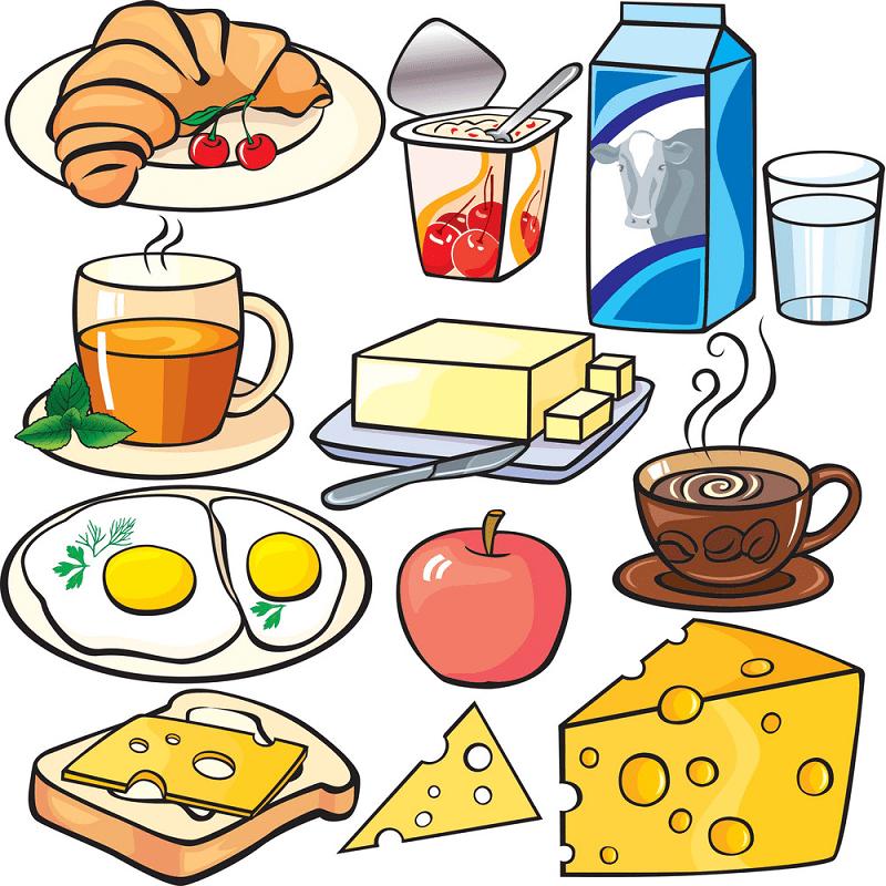 Breakfast clipart 8