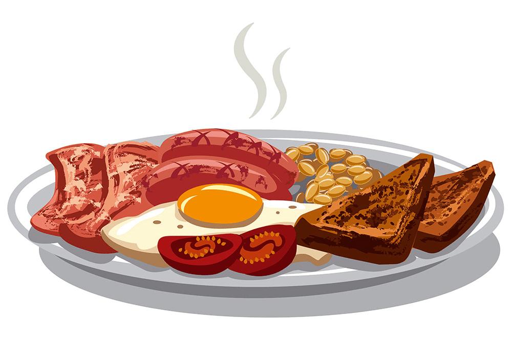 Breakfast clipart free image