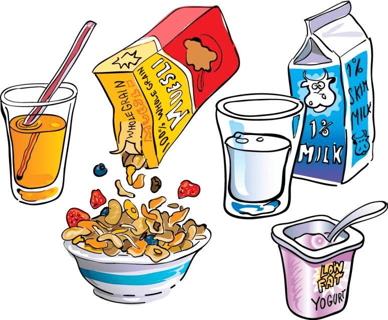 Breakfast clipart png 1