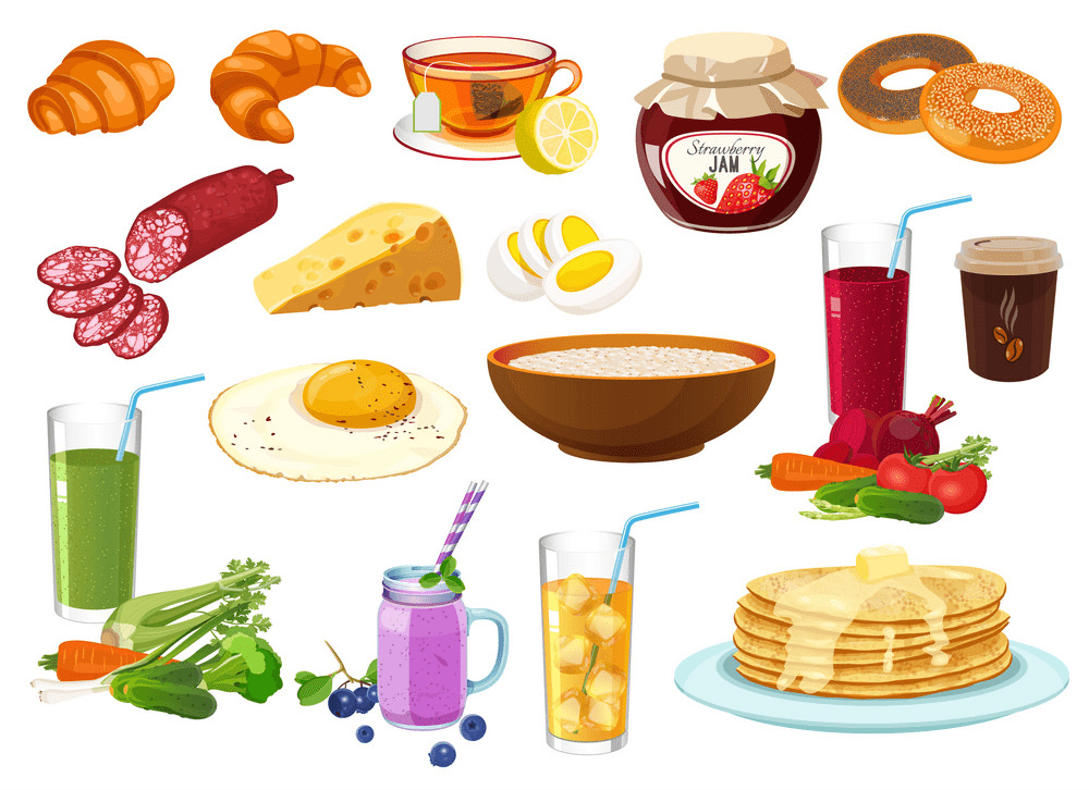 Breakfast clipart png images