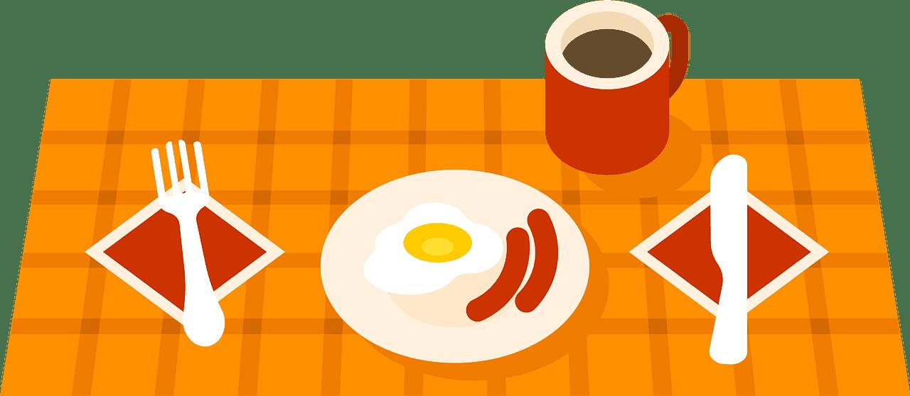 Breakfast clipart transparent 13