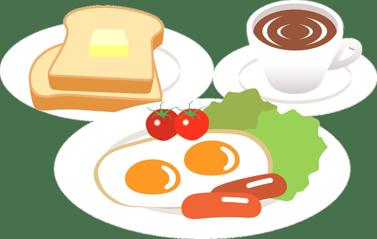 Breakfast clipart transparent 14