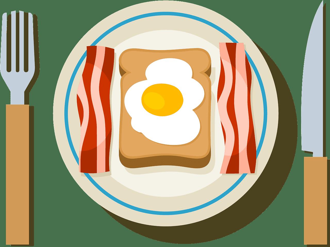 Breakfast clipart transparent 6