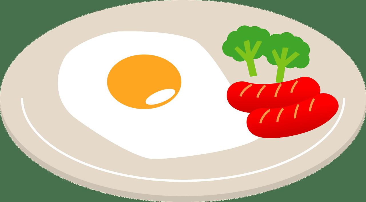 Breakfast clipart transparent background 5