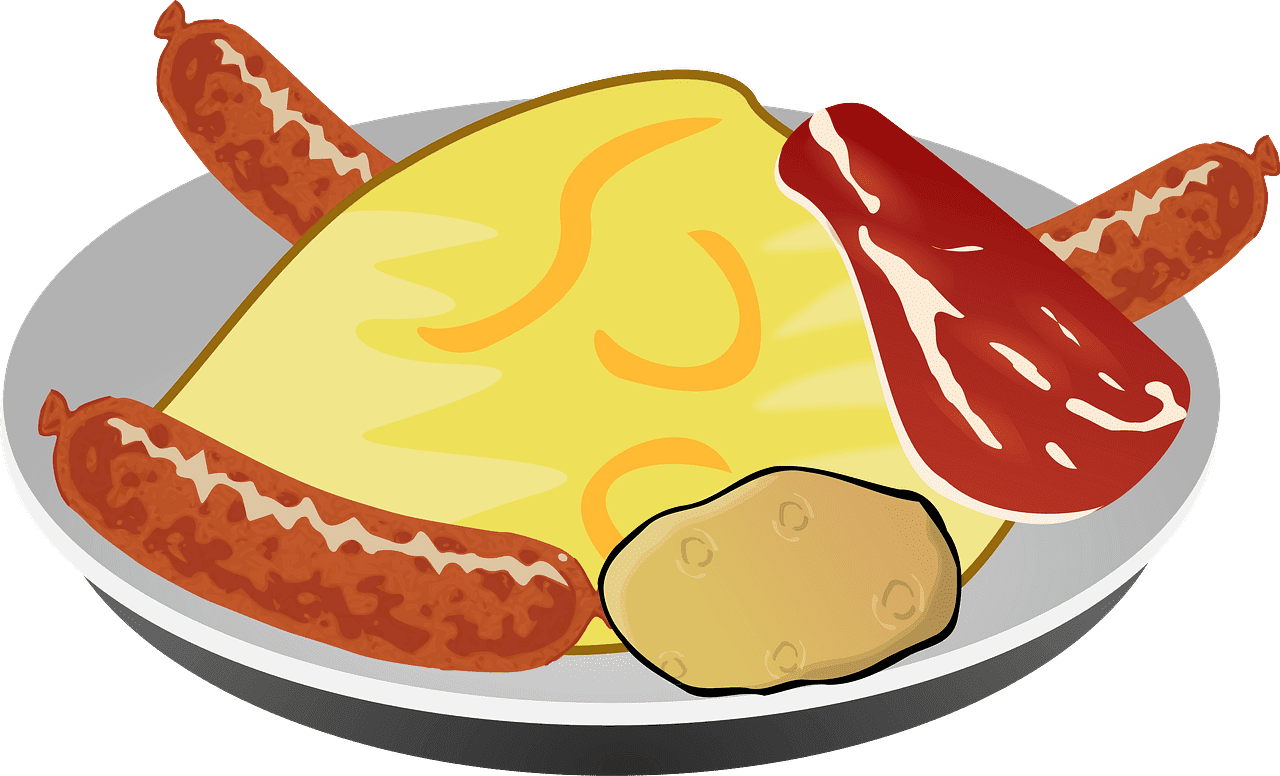 Breakfast clipart transparent background 6