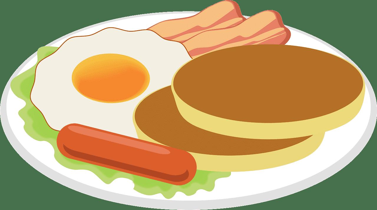 Breakfast clipart transparent background 7