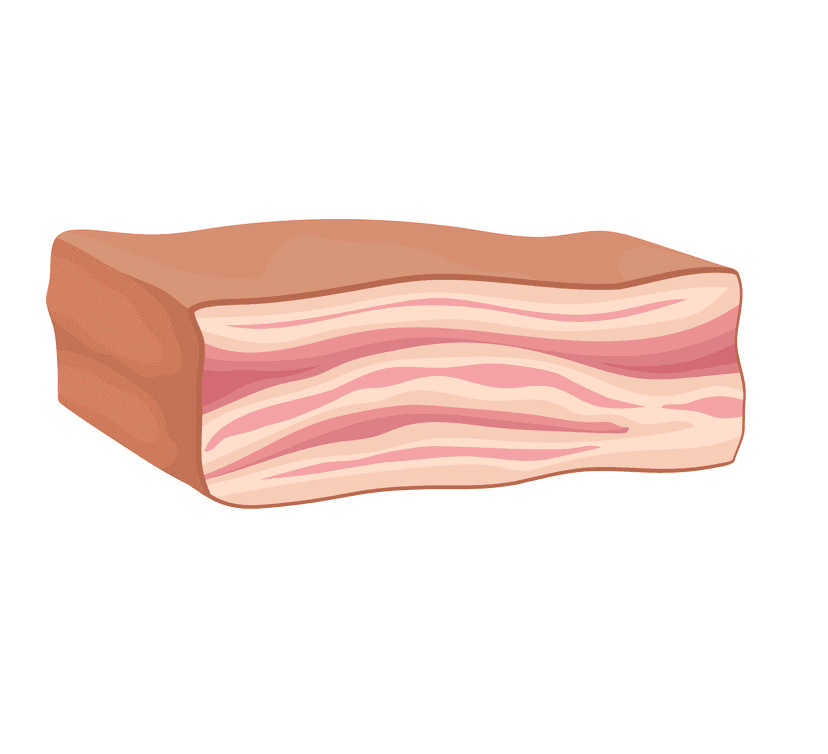 Clipart Bacon for free