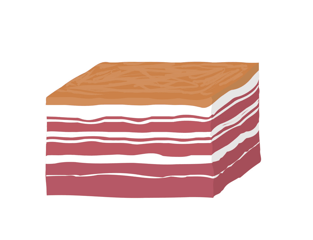Clipart Bacon for kid