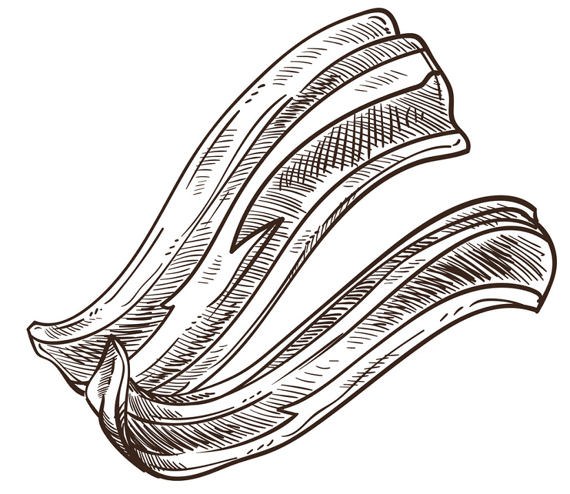 Clipart Bacon images