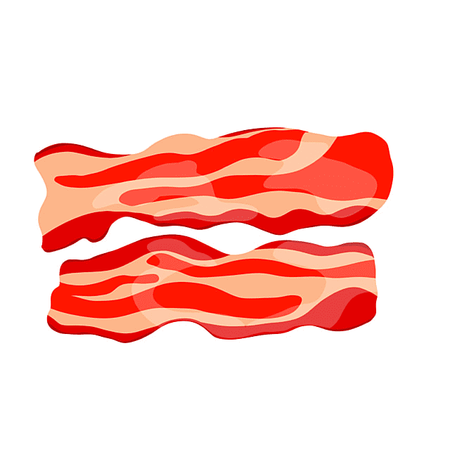 Clipart Bacon png for kid