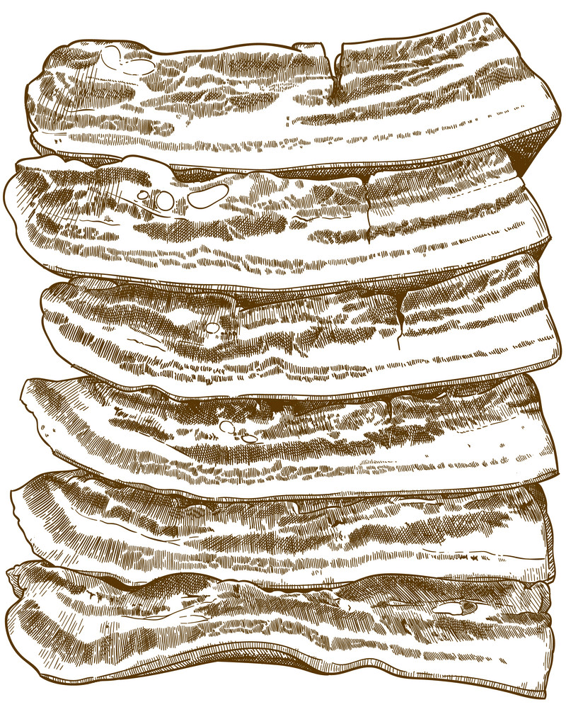 Clipart Bacon png image