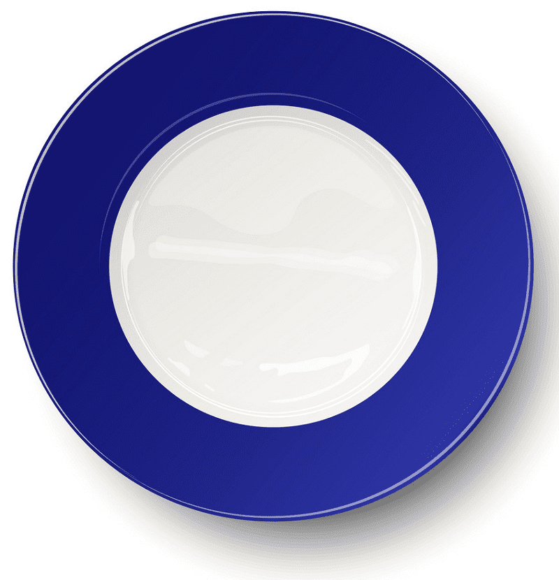 Clipart Plate download