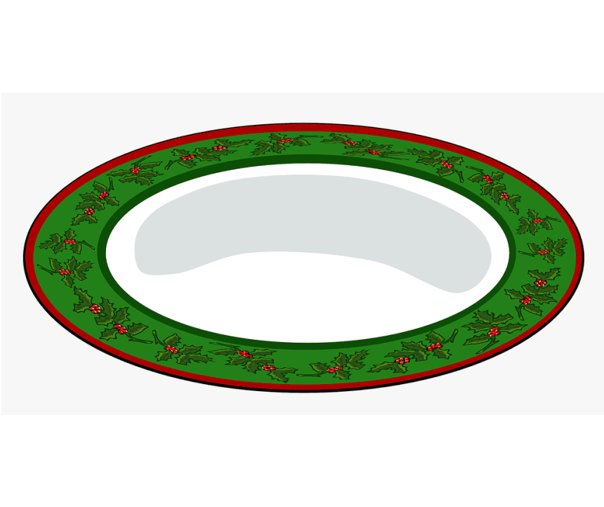 Clipart Plate for free