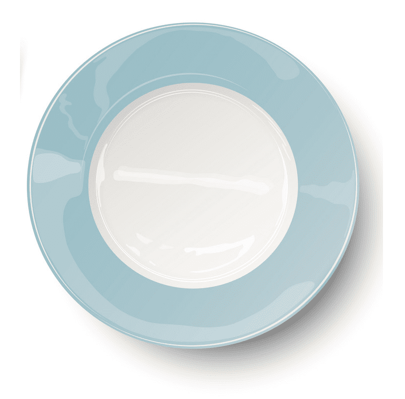 Clipart Plate picture