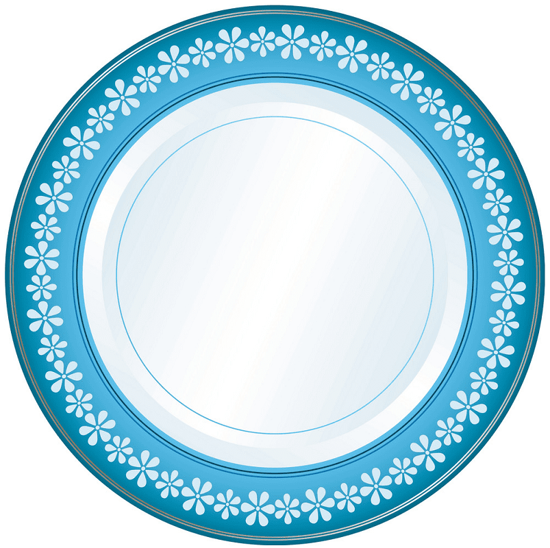 Clipart Plate png for kid