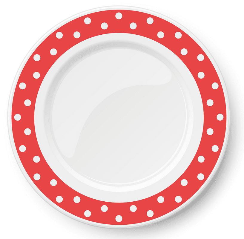 Clipart Plate png for kids