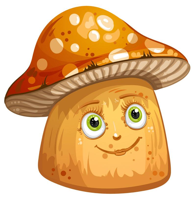 Cute Mushroom clipart download