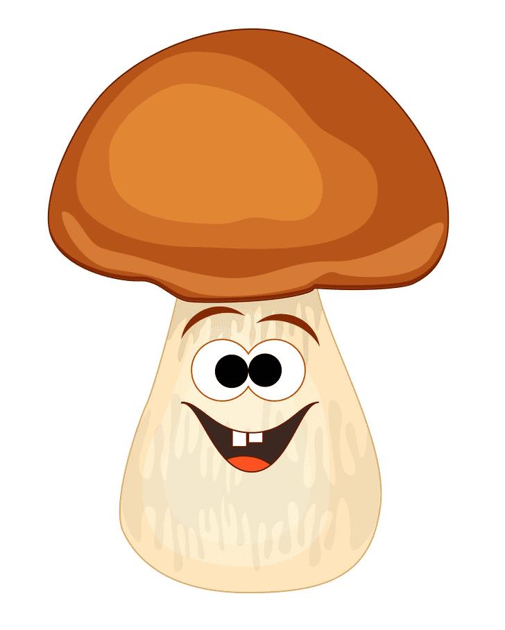 Cute Mushroom clipart image